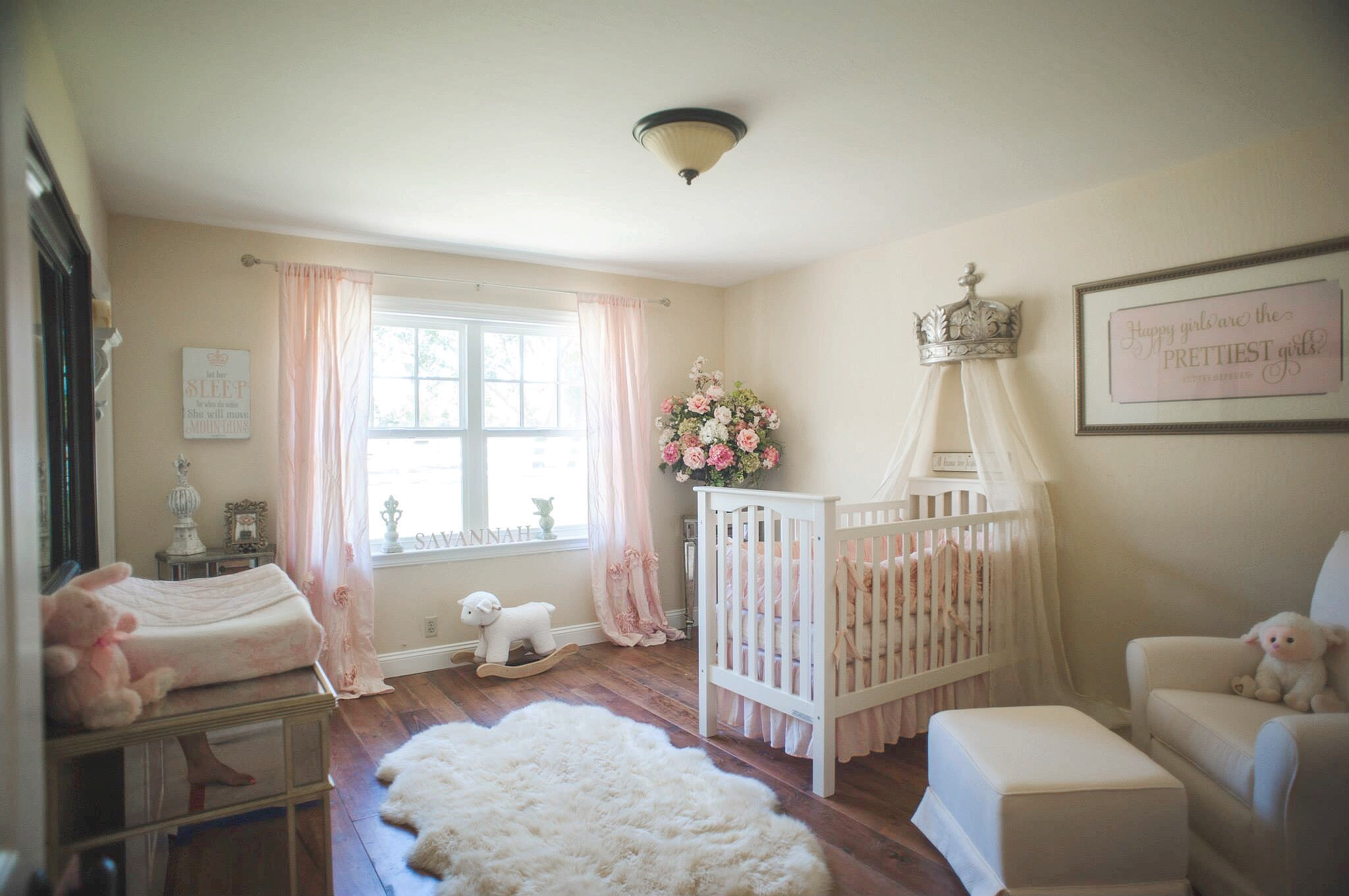 Well The Time Has Come To Say Farewell One Of My Absolute Favorite Rooms In House Baby S Princess Nursery Not So Little